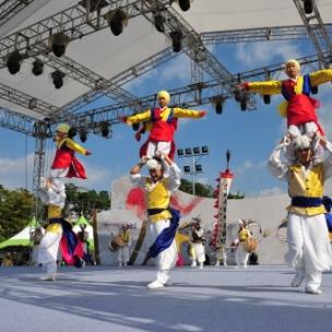 Anseong Matchum Namsadang Baudeogi Festival (7)